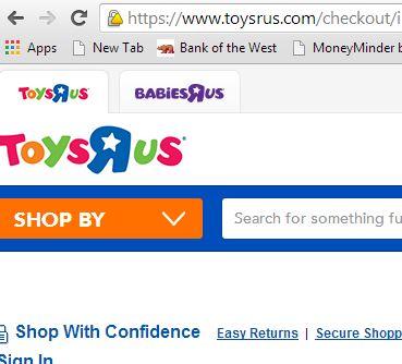 ToysRUs Shopping